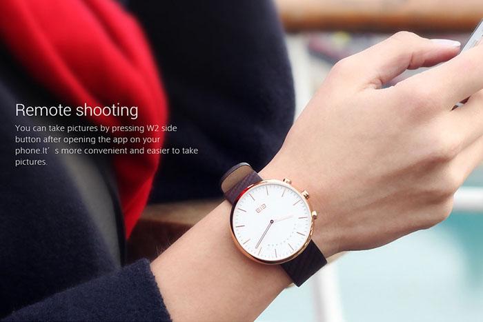 распродажа умных и стильных часов elephone w2
