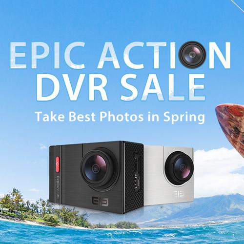 распродажа Action Camera в магазине Gearbest