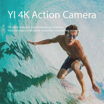 международная версия экшен камеры Xiaomi Yi II