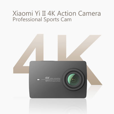 скидка на второе поколение экшн камеры Xiaomi