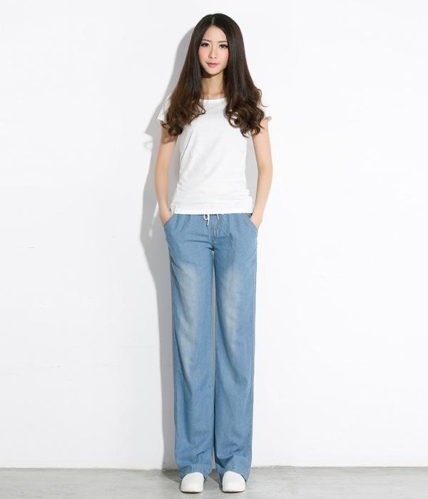 женские джинсы свободный крой