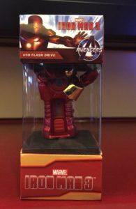 коробка флешка iron-man