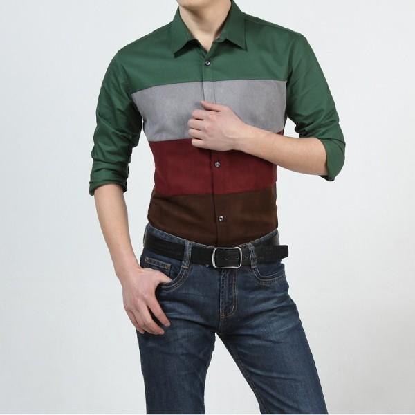 рубашка с коротким рукавом хлопок