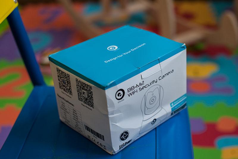 упаковка камеры Digoo BB-M2