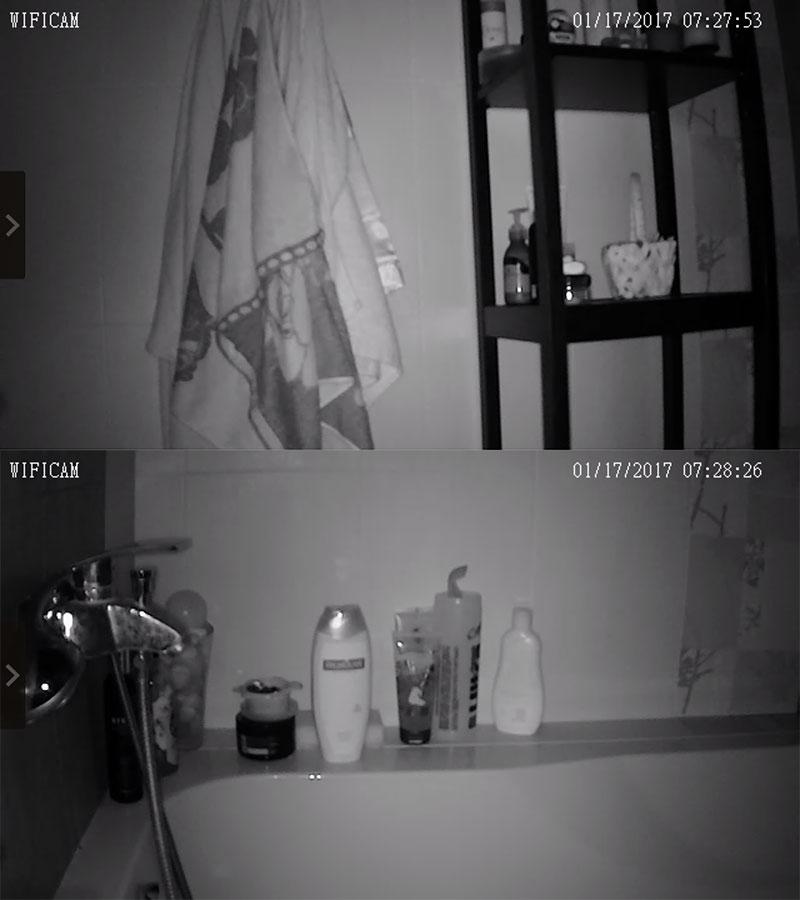ночная съемка Digoo BB-M2