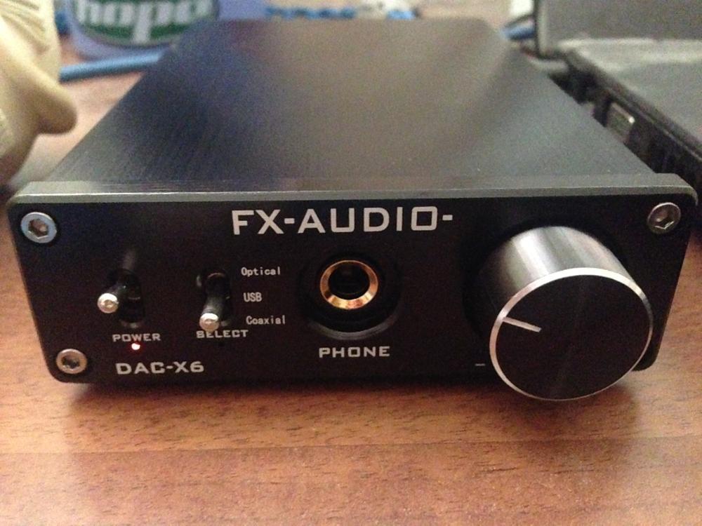 усилитель FX AUDIO DAC-X6