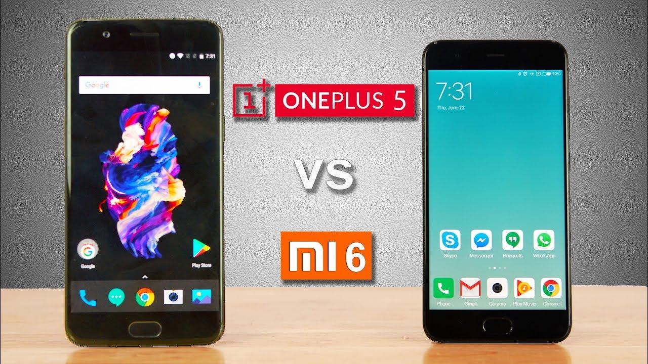 Oneplus 5 или Xiaomi mi6