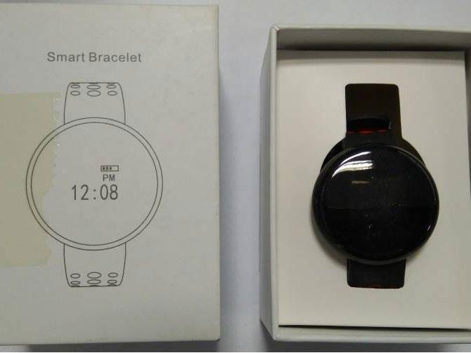 упаковка часов LYNWO I8
