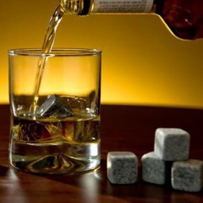 Натуральные камни для виски