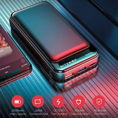 Внешний аккумулятор BlitzWolf BW-P11 20000mAh
