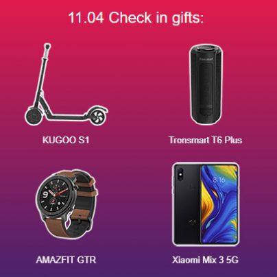 Купоны Geekbuying на 11 ноября