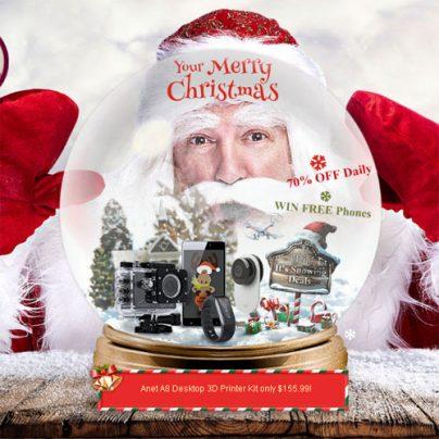 Рождественская распродажа Gearbest