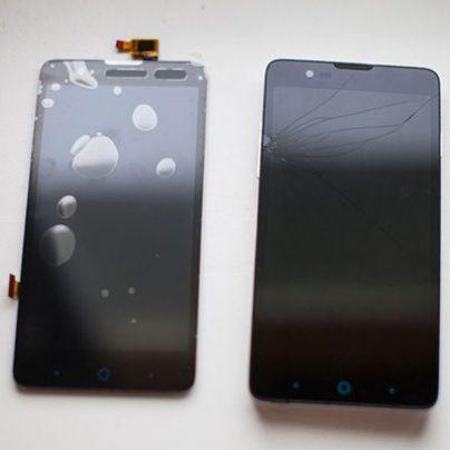 О том, как я у смартфона ZTE V5 тачскрин менял