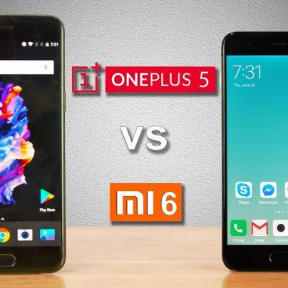 Сравнение смартфонов Oneplus 5 и Xiaomi mi6