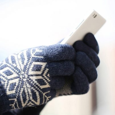 Перчатки Xiaomi Finger Screen Touch Gloves с АлиЭкспресс