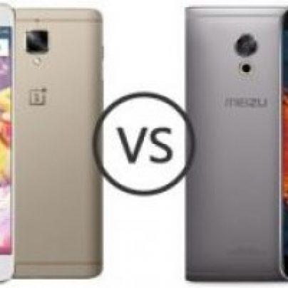 Meizu Pro 6 Plus vs OnePlus 3t: сравнение флагманов