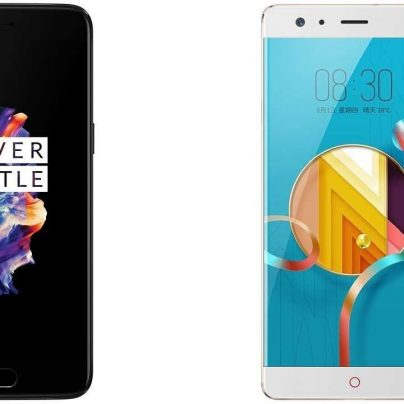 Сравнение гигантов: OnePlus 5 vs Nubia z17