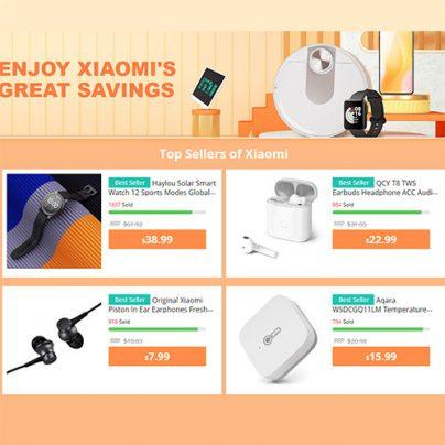 Товары Xiaomi по сниженной цене